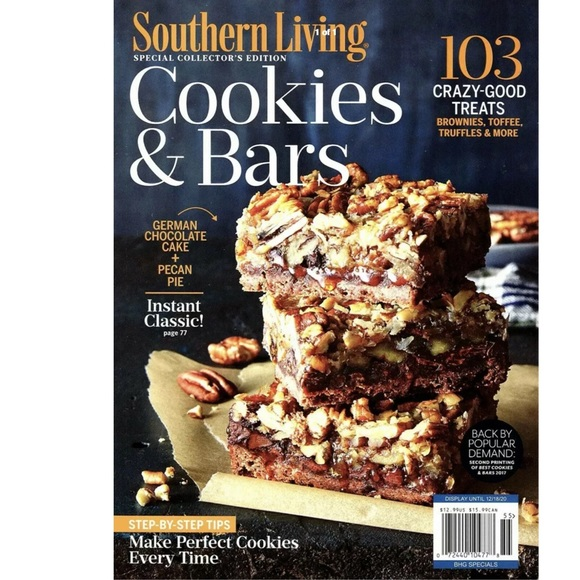 Southern Living Cookies & Bars Magazine Desserts
